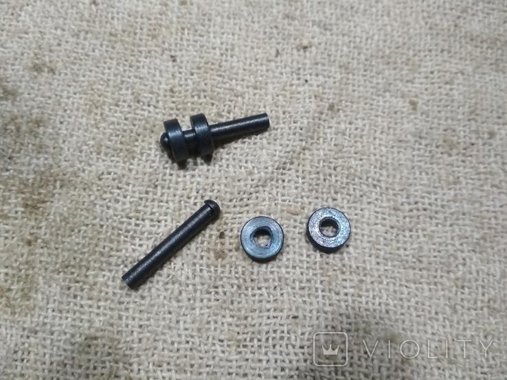 Заклёпки на штык нож Манлихер М88-М95 копия, фото №3