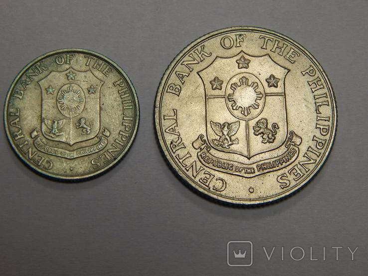 10 и 25 центов, Филиппины, фото №3