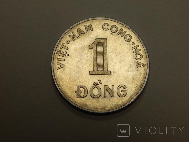 1 донг, 1971 г Вьетнам, фото №2