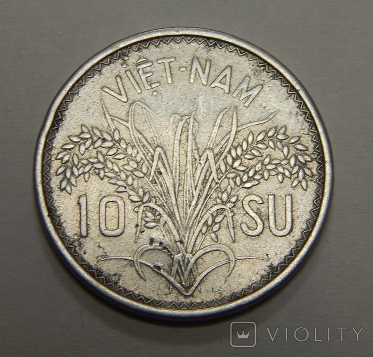 10 су, 1953 г Вьетнам, фото №2