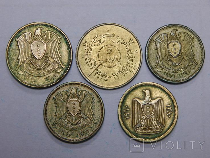5 монет арабских стран, фото №3