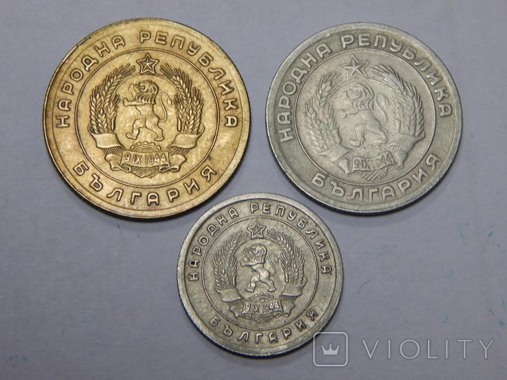 3 монеты Болгарии, фото №3