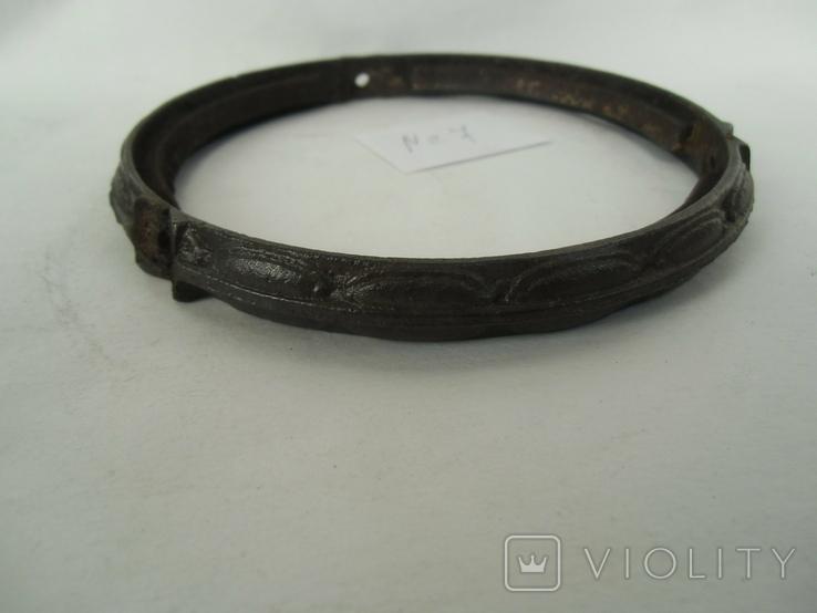 Кольцо под майолику до потолочных керосиновых ламп№7, фото №4