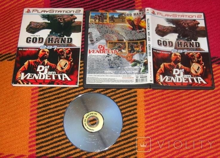 DVD PS2 Рука Бога. Дэф Джем., фото №3