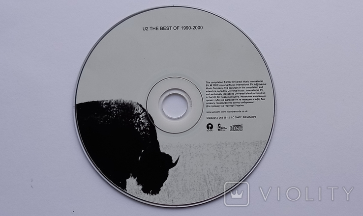 U2. The Best Of 1990 - 2000, фото №3