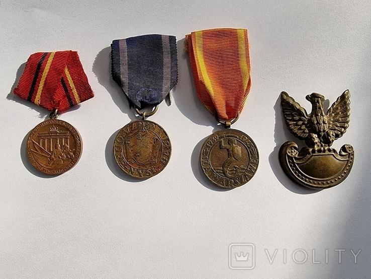 3 медалі і кокарда за вашу ціну., фото №3