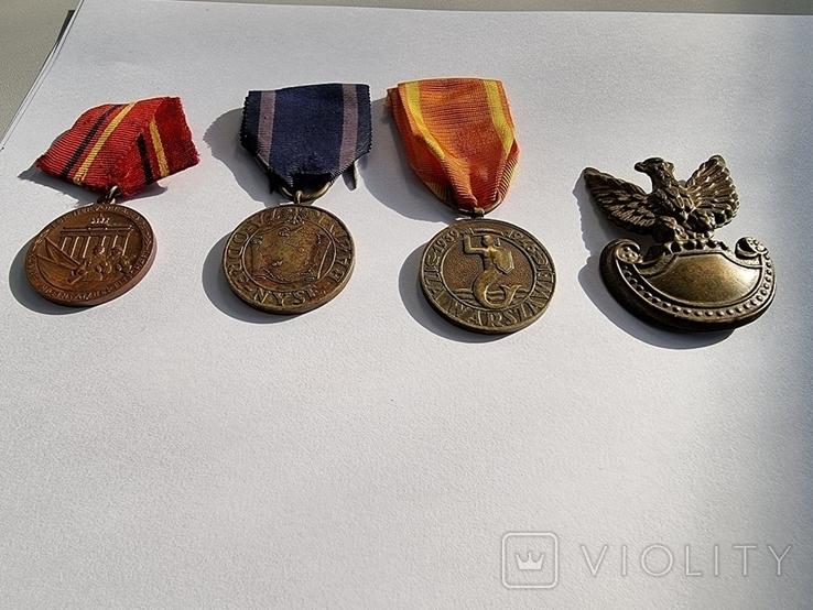 3 медалі і кокарда за вашу ціну., фото №4