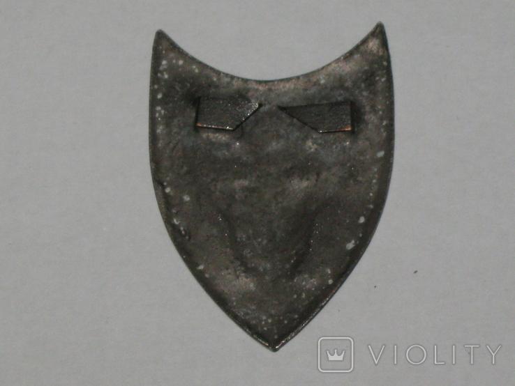 Каппен, знак Соборна Україна 1918 УСС сірий. копія, фото №4