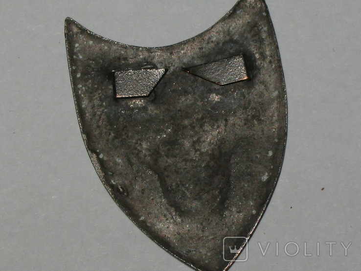 Каппен, знак Соборна Україна 1918 УСС сірий. копія, фото №6