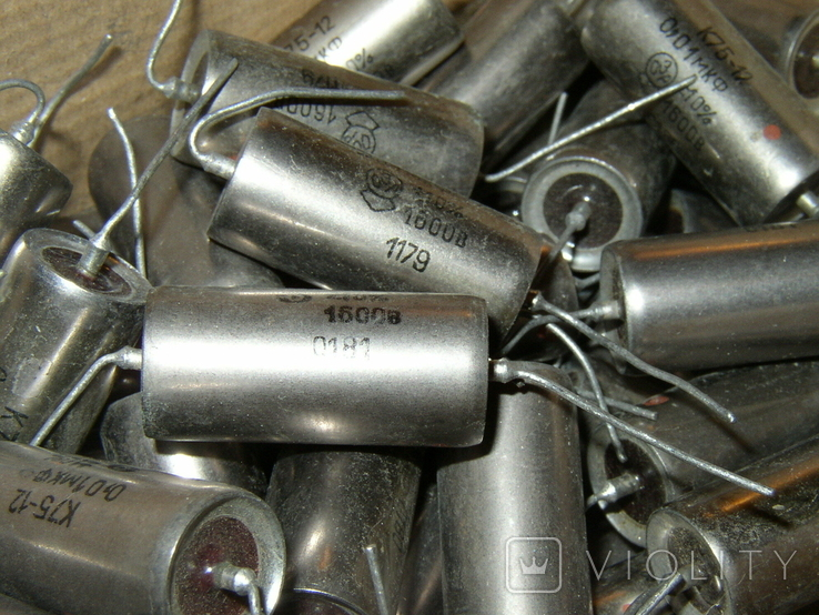 Конденсаторы СССР К75-12 0,01 x 1600V 156 шт., фото №4