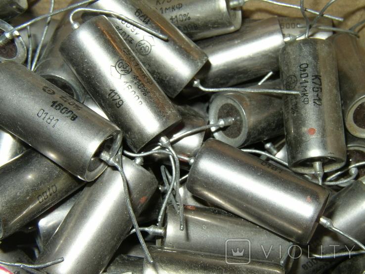 Конденсаторы СССР К75-12 0,01 x 1600V 156 шт., фото №6