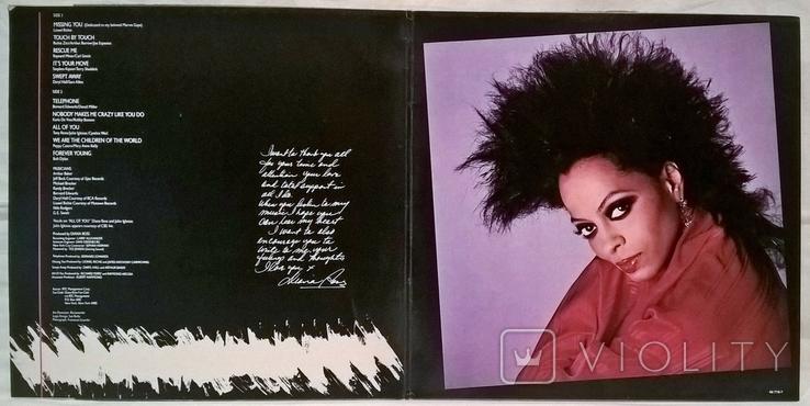 Diana Ross - Swert Away - 1984. (LP). 12. Vinyl. Пластинка. Holland. Club Edition., фото №3