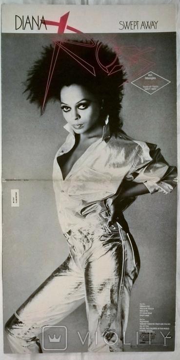 Diana Ross - Swert Away - 1984. (LP). 12. Vinyl. Пластинка. Holland. Club Edition., фото №5