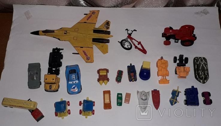 Лот игрушечный транспорт, фото №2