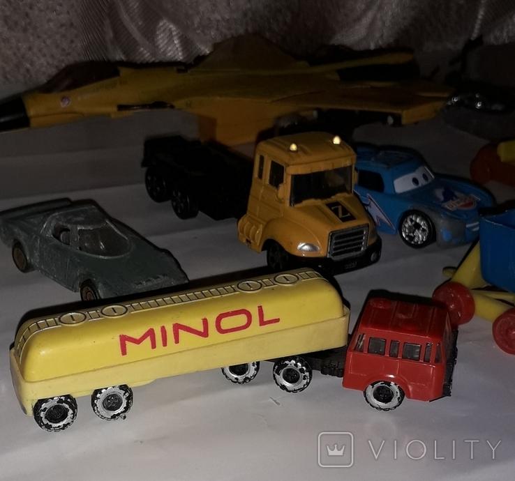 Лот игрушечный транспорт, фото №3