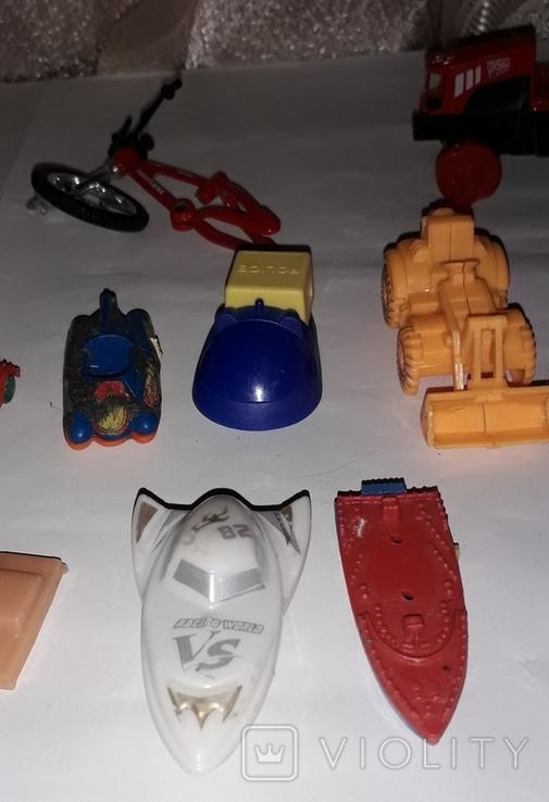 Лот игрушечный транспорт, фото №5