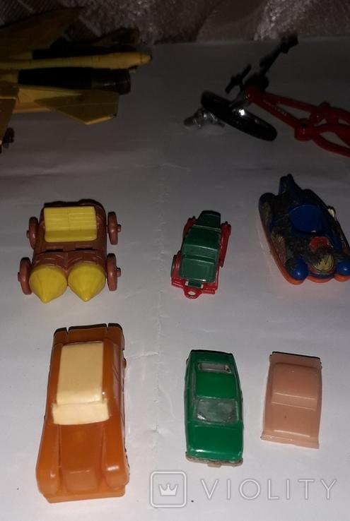 Лот игрушечный транспорт, фото №6