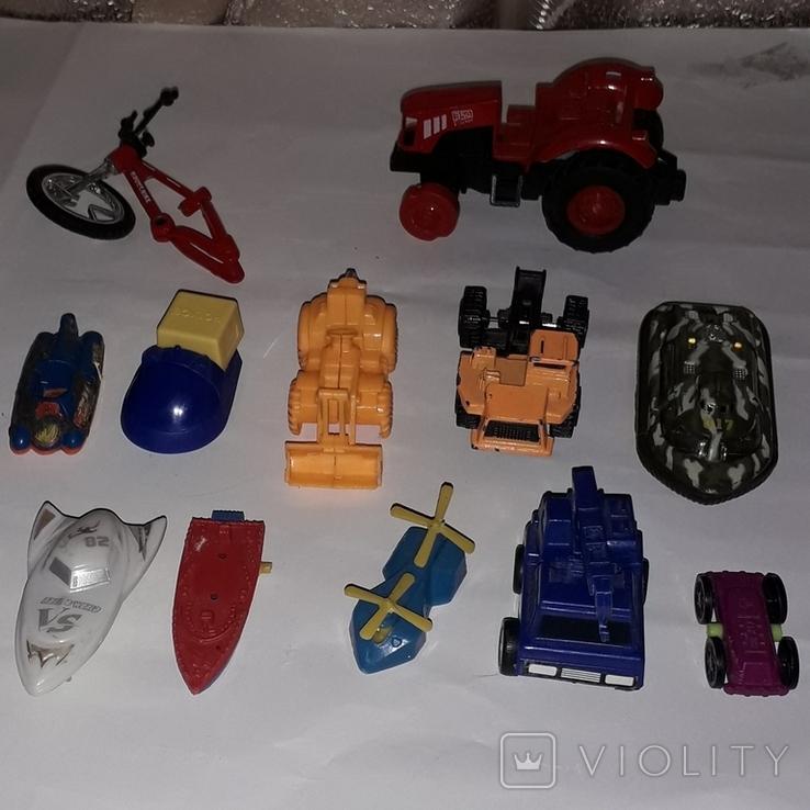 Лот игрушечный транспорт, фото №7