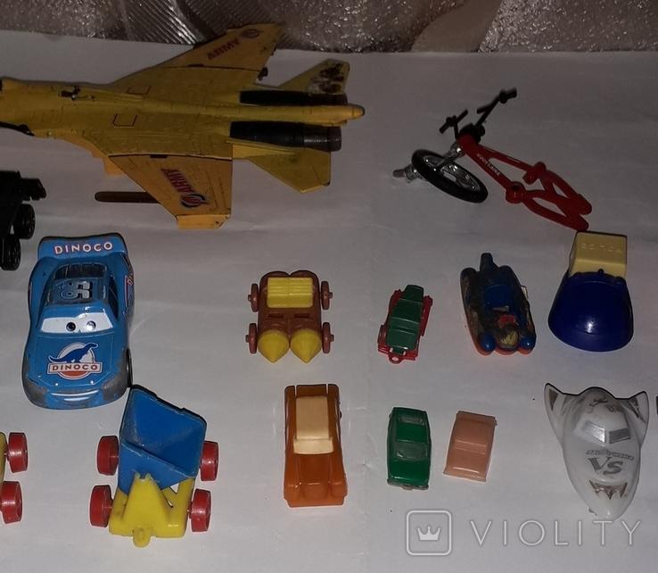 Лот игрушечный транспорт, фото №8