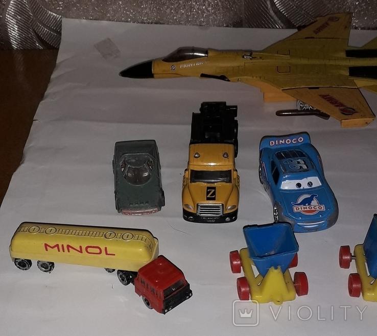 Лот игрушечный транспорт, фото №9