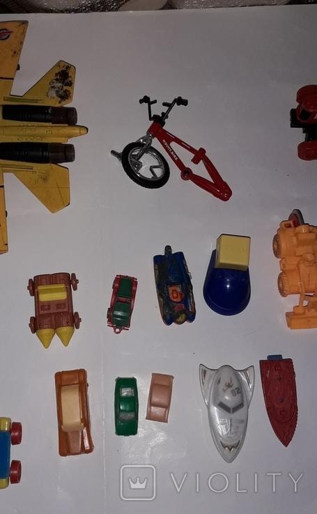 Лот игрушечный транспорт, фото №10