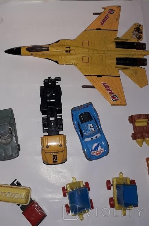 Лот игрушечный транспорт, фото №11