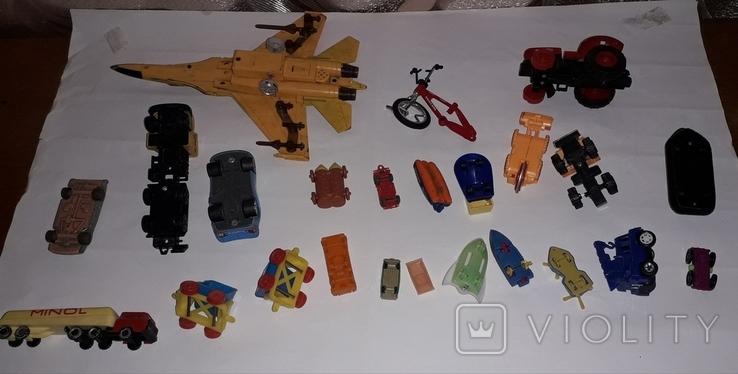 Лот игрушечный транспорт, фото №12