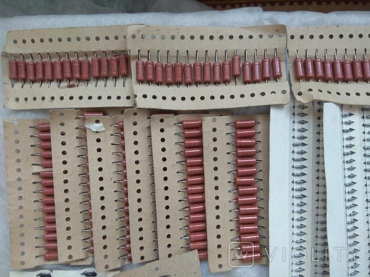 Радиодетали новые резисторы, конденсаторы,диоды,предохранители., фото №7