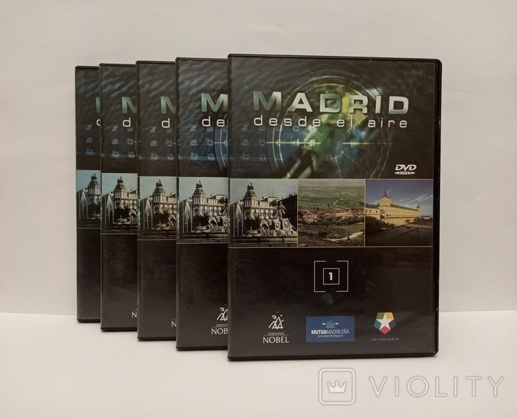 MADRID. desde ei aire. DVD 1-2-3-6-9-11., фото №2