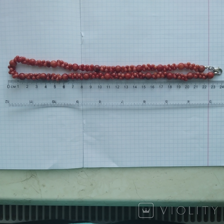 Намисто коралове червоне, фото №8