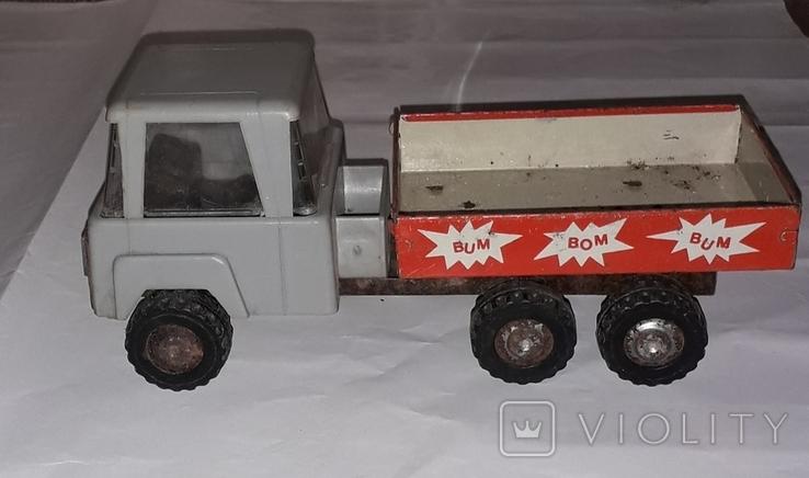 Машинка Грузовая СССР длина 19,5 см, фото №3