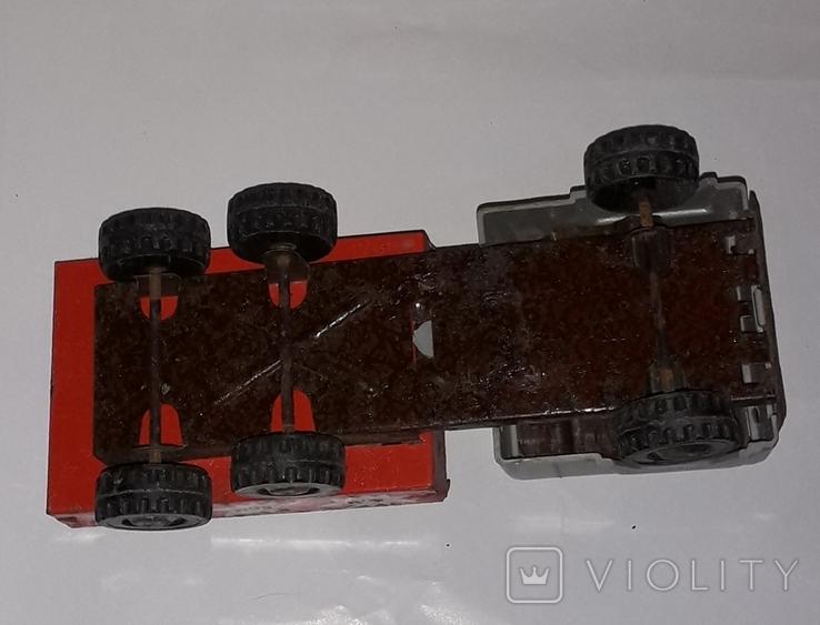 Машинка Грузовая СССР длина 19,5 см, фото №4
