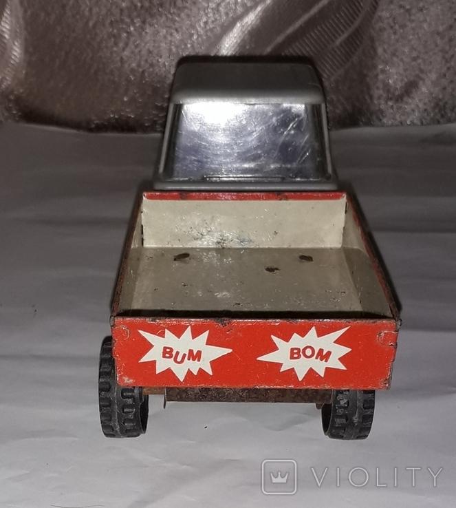 Машинка Грузовая СССР длина 19,5 см, фото №5