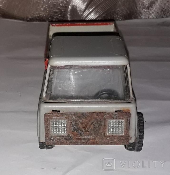 Машинка Грузовая СССР длина 19,5 см, фото №6
