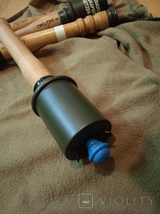 Макет (копия) немецкой М43 гранаты из дерева, фото №3