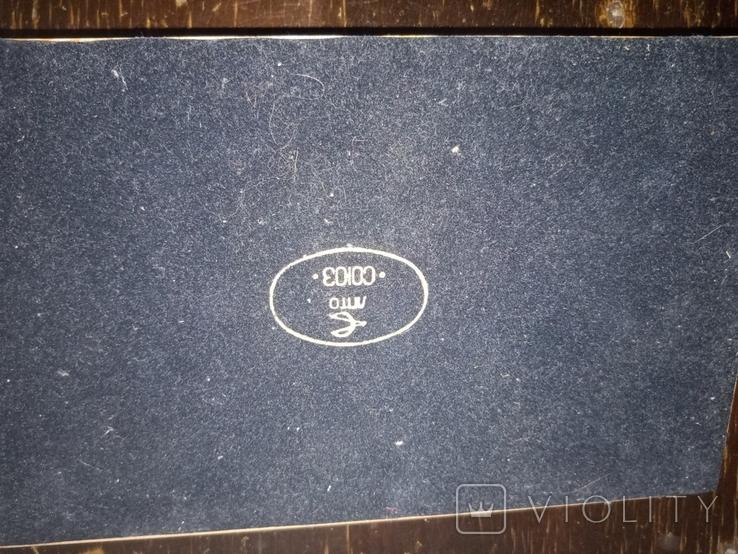 Настольный прибор Столичный,ручки с золотым пером,1978 г., фото №9