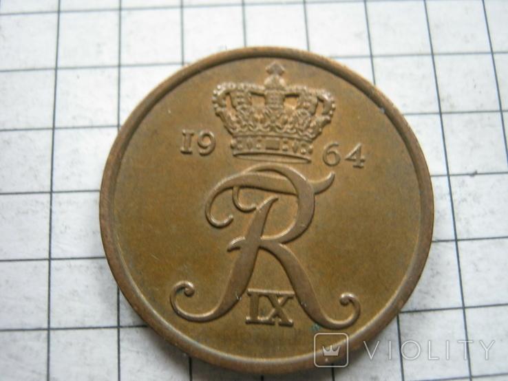Дания 5 эре 1964 года, фото №2