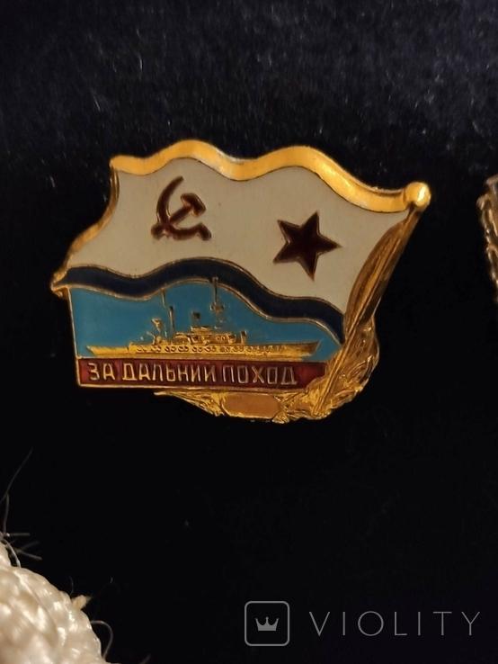 Дембельская фланка ВМФ СССР с обвесом, фото №4