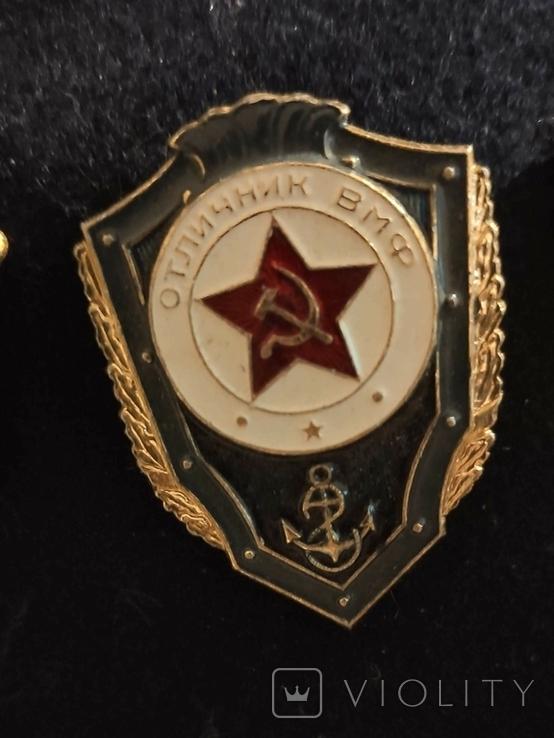 Дембельская фланка ВМФ СССР с обвесом, фото №5