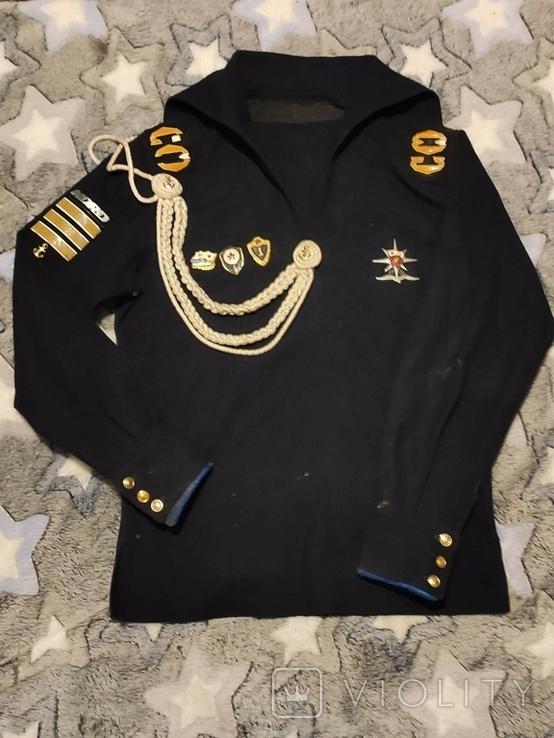 Дембельская фланка ВМФ СССР с обвесом, фото №2