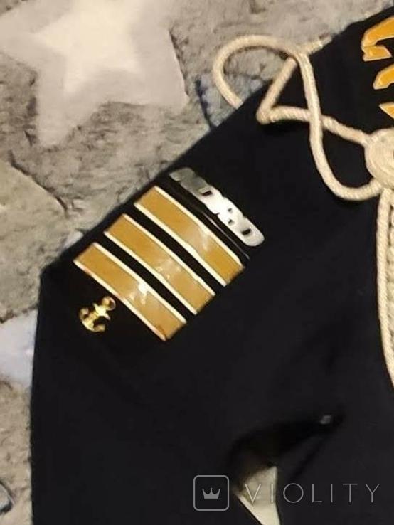 Дембельская фланка ВМФ СССР с обвесом, фото №7