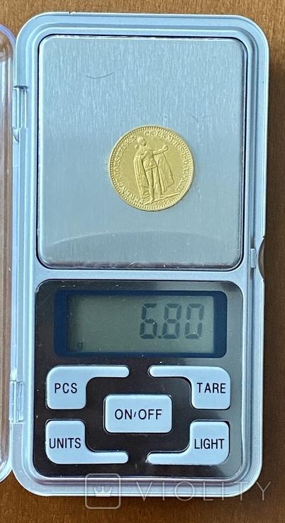 20 корон. 1912. Франц Иосиф I. Австро-Венгрия (золото 900, вес 6,80 г), фото №12