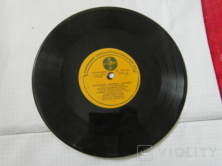 Виниловая пластинка из СССР.№3, фото №5