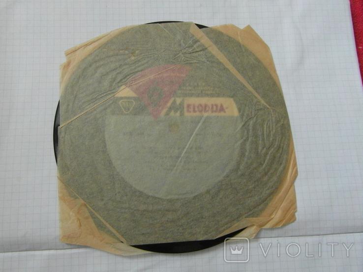 Виниловая пластинка из СССР.№9, фото №4