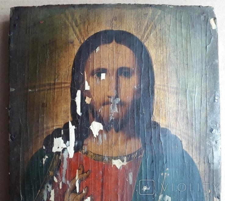 Икона 23.5 см х 17 см под Реставрацию, фото №5