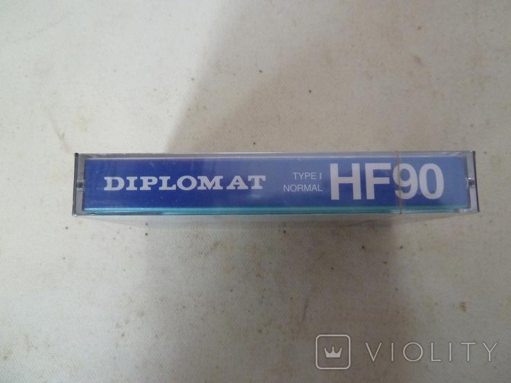 Аудиокассета Diplomat HF-90 новая, фото №4