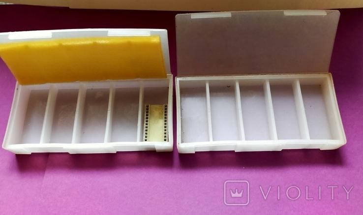 2 коробки для хранения радиодеталей, фото №4