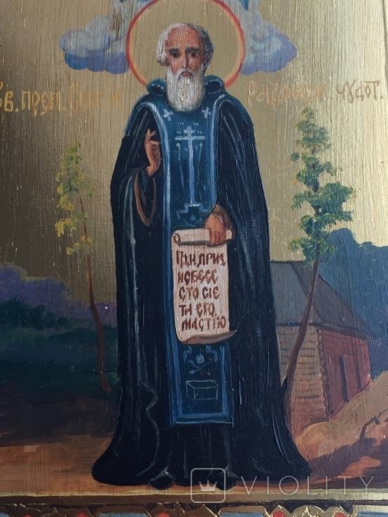 Икона Сергей Радонежский, фото №4