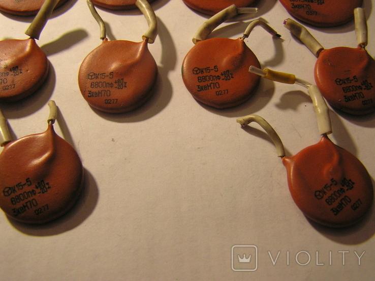 Конденсаторы высоковольтные К15-5., фото №2