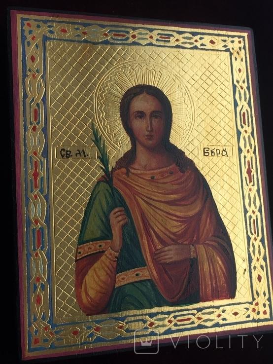 Икона Вера, фото №2